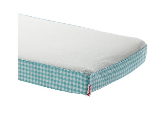 Tulip Light Blue Crib Bedding Set