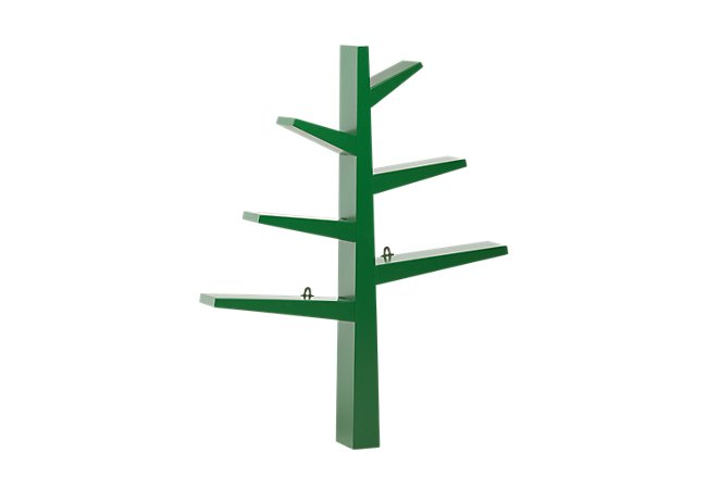 Tree Green Storage Bookcase