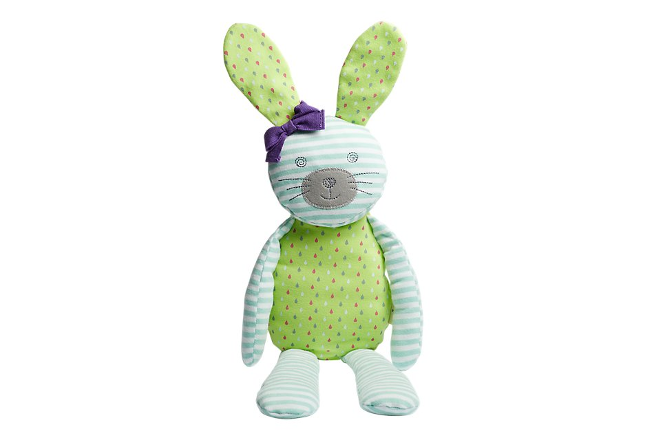 "Bunny Teal 18"" Plush Toy"