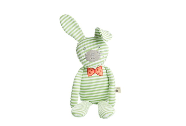 Bunny Green Plush Toy