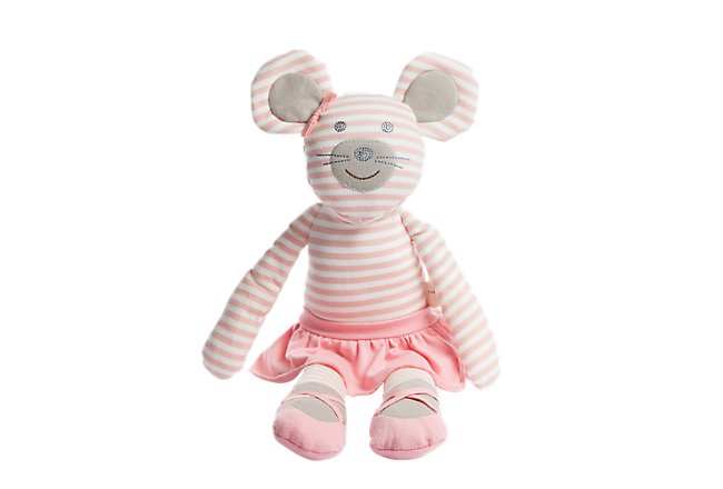 Mouse Pink Plush Toy