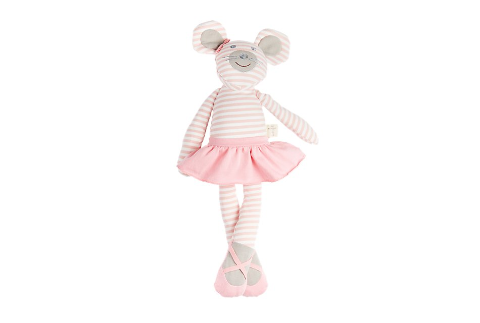 "Mouse Pink 18"" Plush Toy"