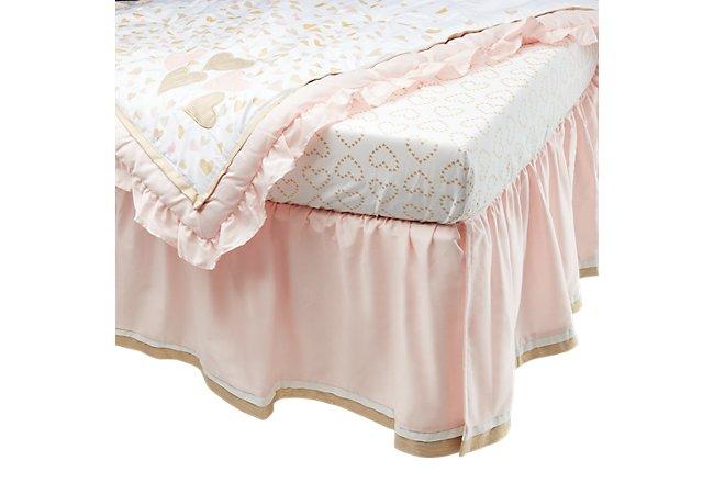 Confetti Light Gold Crib Bedding Set