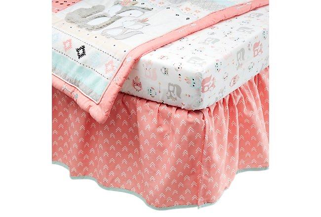 Spirit Pink Crib Bedding Set