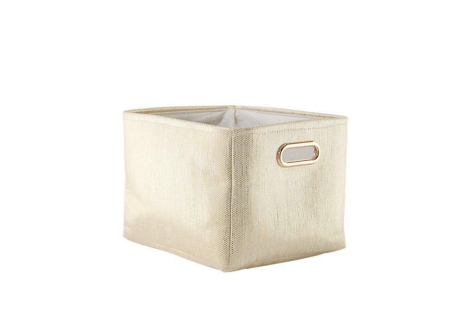 Alina Gold  Basket