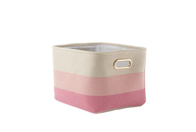 Ombre Pink Basket