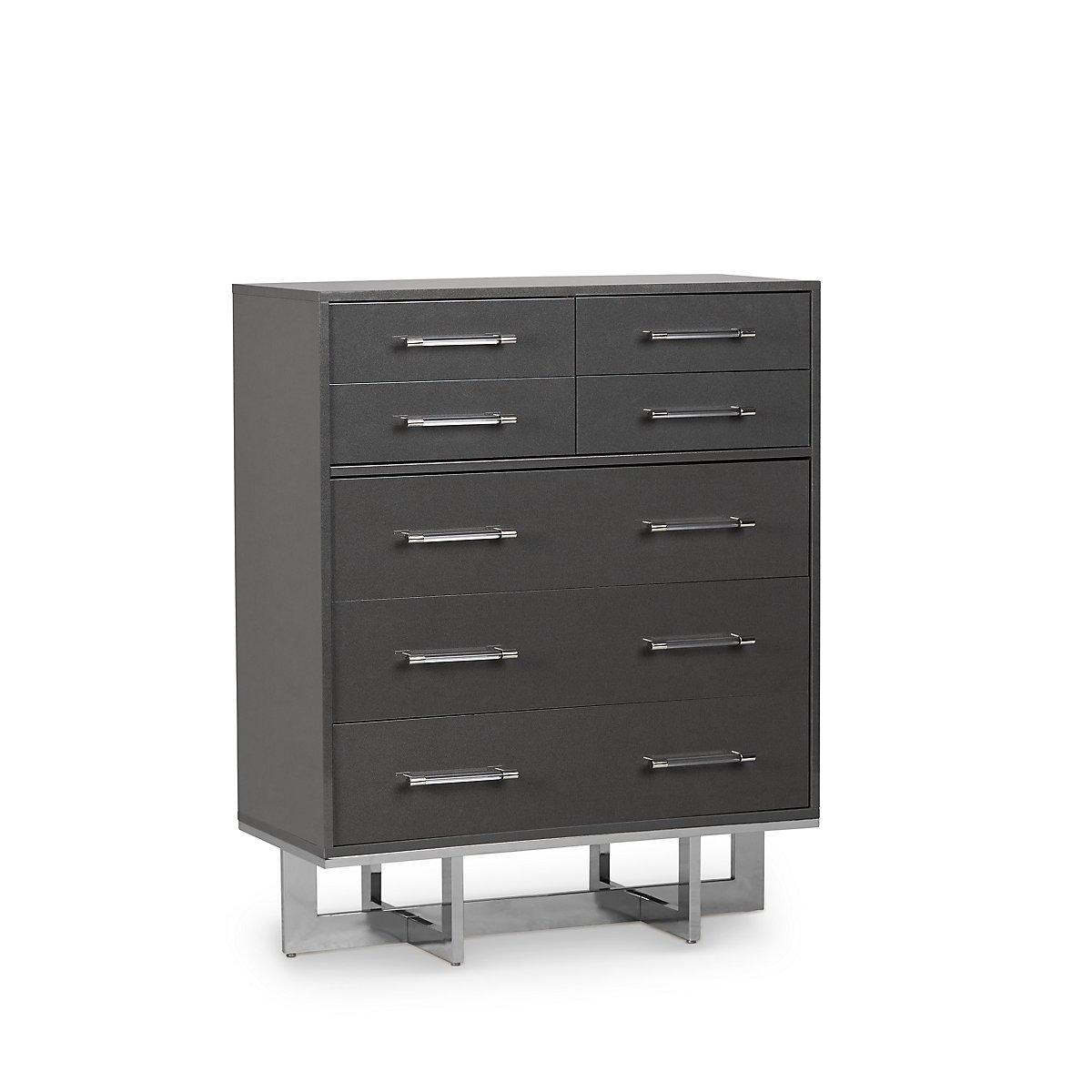 Cortina Gray Wood Drawer Chest