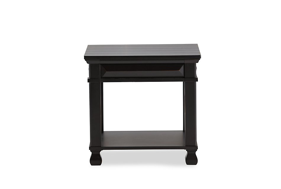 Passages Black End Table | Living Room - End Tables | City ...