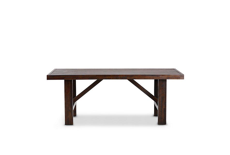 Kona Grove Dark Tone Wood Rectangular Table