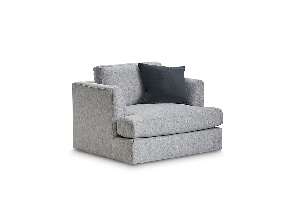 Fantastic Sydney Gray Fabric Swivel Chair Download Free Architecture Designs Scobabritishbridgeorg
