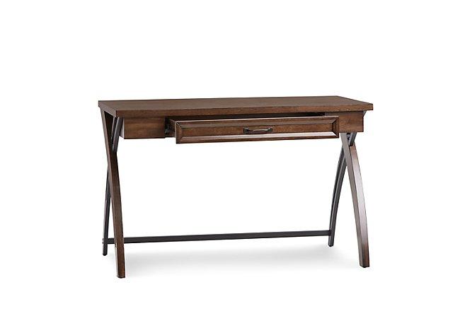 Axon Mid Tone Wood Writing Desk