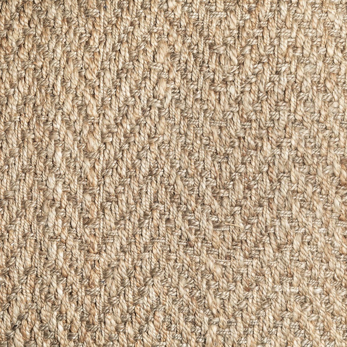 Herringbone Light Brown Jute 5x8 Area Rug