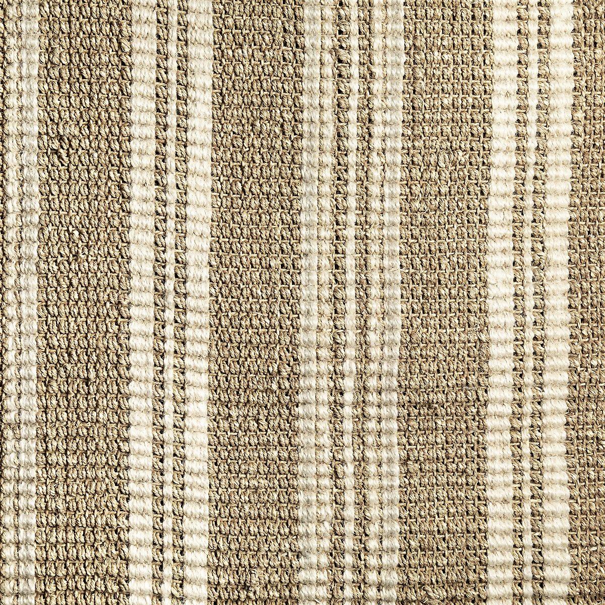 Seagrass Beige Jute 5x8 Area Rug
