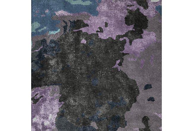 Galaxy Multicolored Wool Blend 5x8 Area Rug
