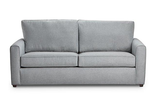 Ripley Light Blue Fabric Sofa