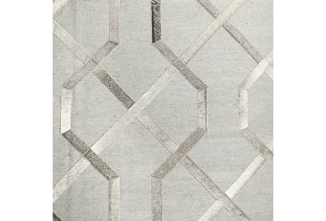 Alloy Gray 8x10 Area Rug