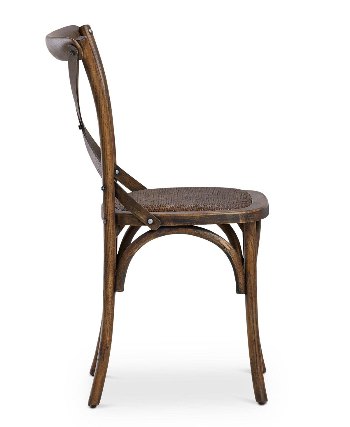 Teagan Light Tone Wood Wood Side Chair