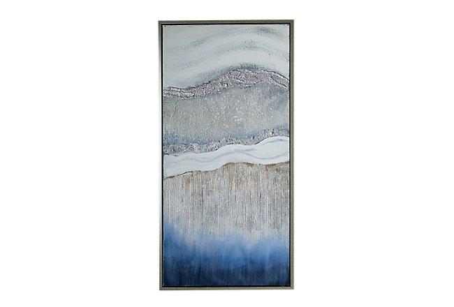 Marina Blue Framed Wall Art