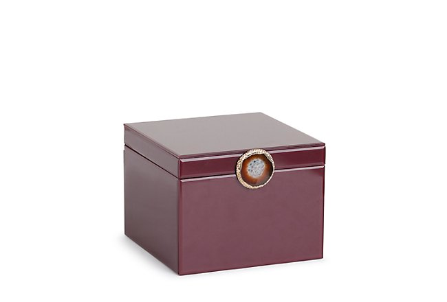 Ambre Dark Tone Wood Box