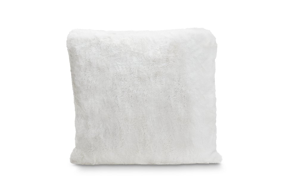 "Kaycee White 22"" Accent Pillow"