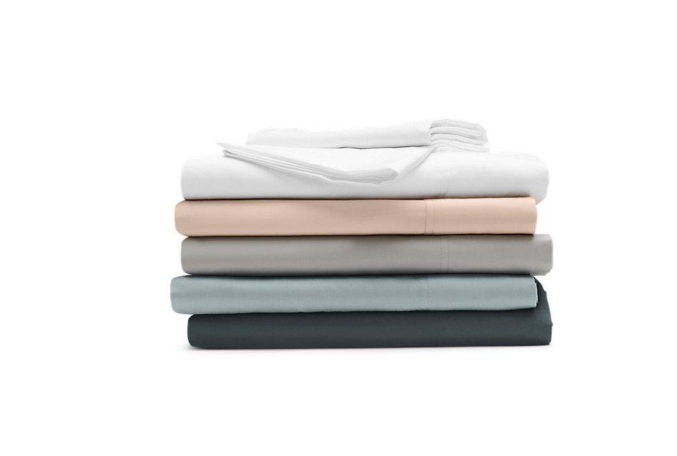 Cotton Sateen Light Blue  300 Thread Sheet Set