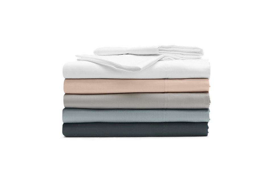Cotton Sateen White 300 Thread Sheet Set