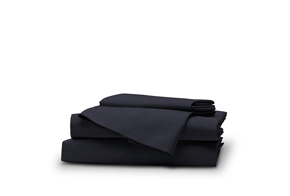 Organic Cotton Dark Blue  300 Thread Sheet Set