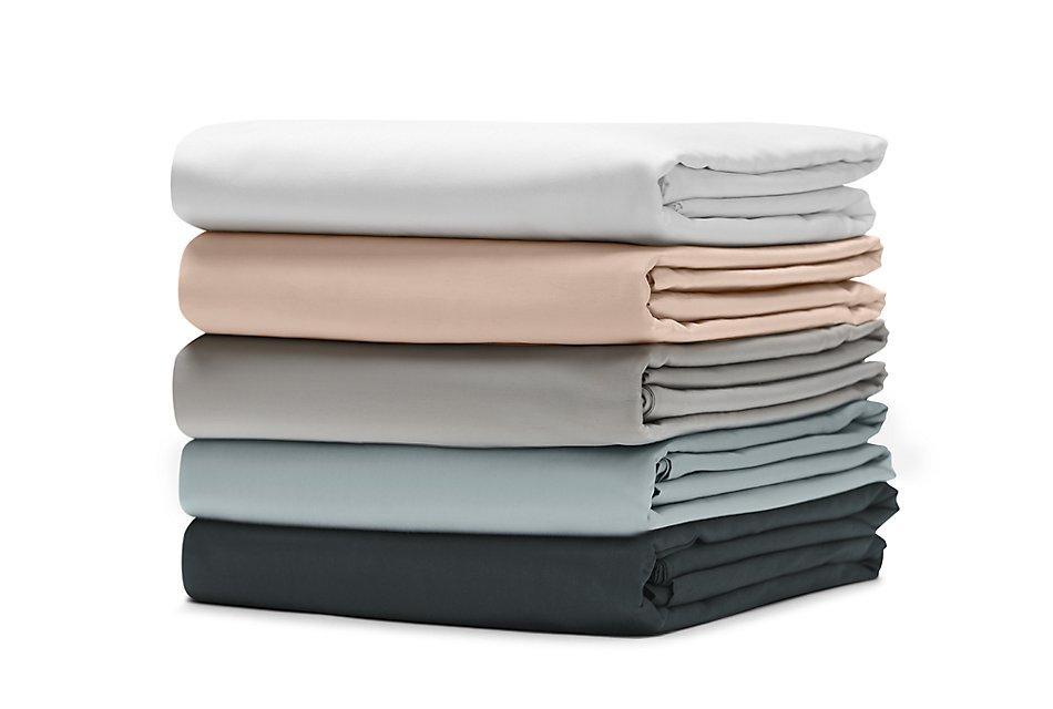 Organic Cotton Pink 300 Thread Sheet Set