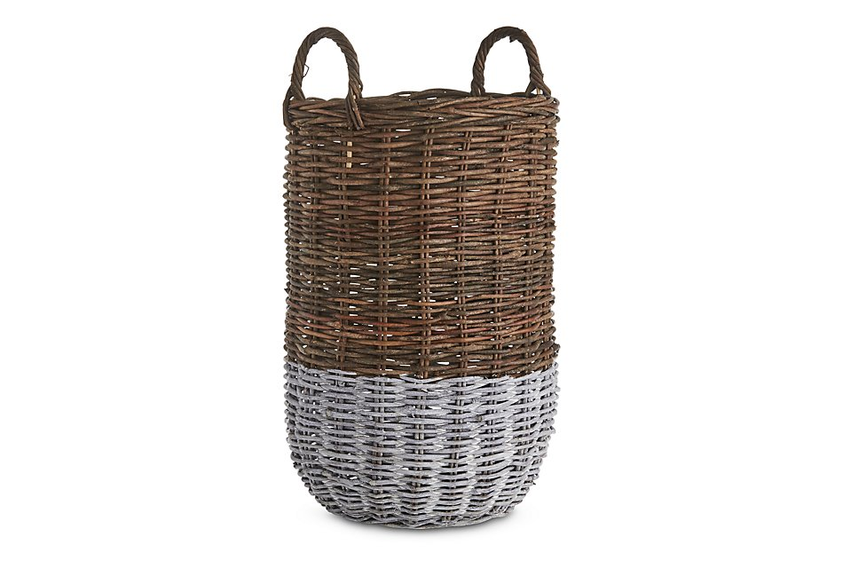 Metz Two-tone  Tall Basket