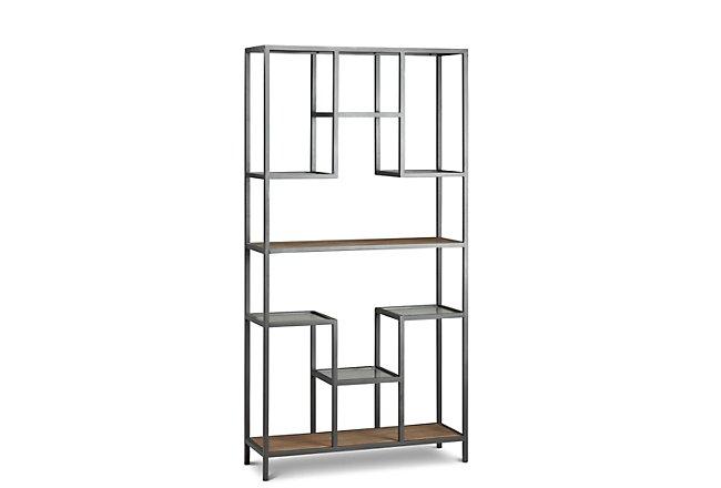 Mila Silver Wood Bookcase