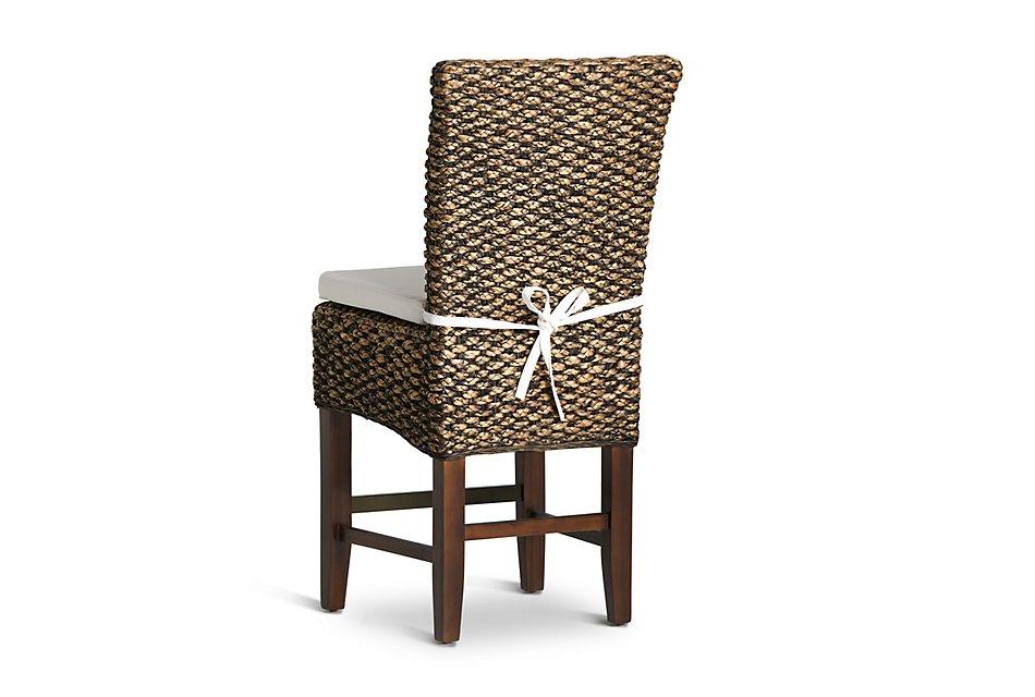 Sensational Bali Mid Tonewoven 24 Cushioned Woven Barstool Dining Ncnpc Chair Design For Home Ncnpcorg