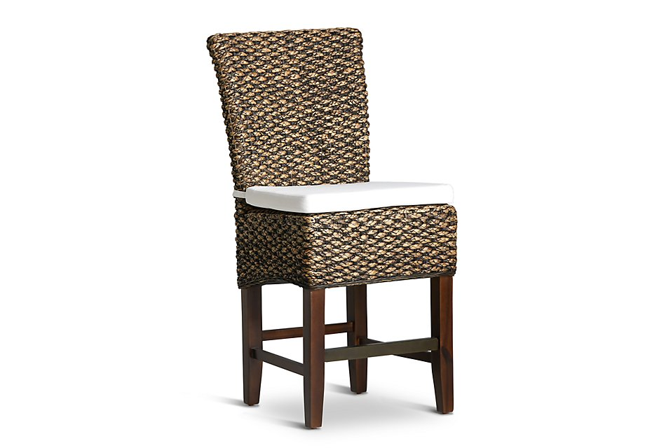 Prime Bali Mid Tonewoven 24 Cushioned Woven Barstool Dining Ncnpc Chair Design For Home Ncnpcorg