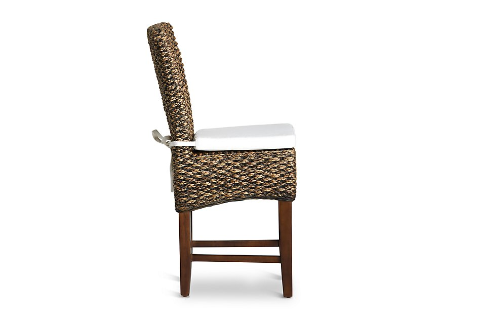 Stupendous Bali Mid Tonewoven 24 Cushioned Woven Barstool Dining Ncnpc Chair Design For Home Ncnpcorg