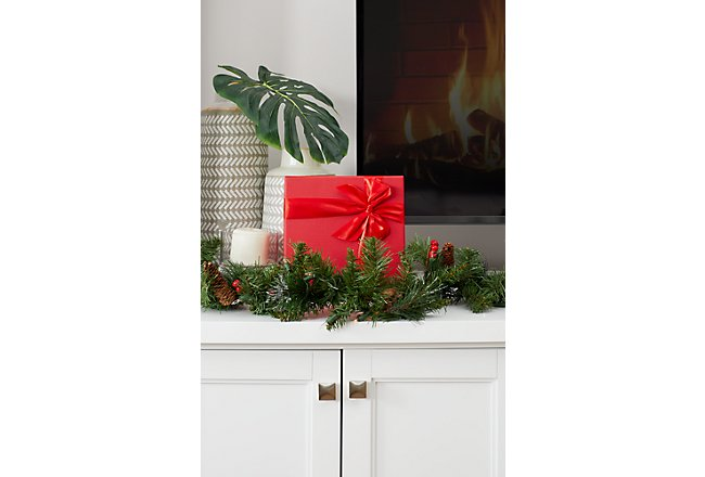 Newport White Large Drawer Entertainment Wall