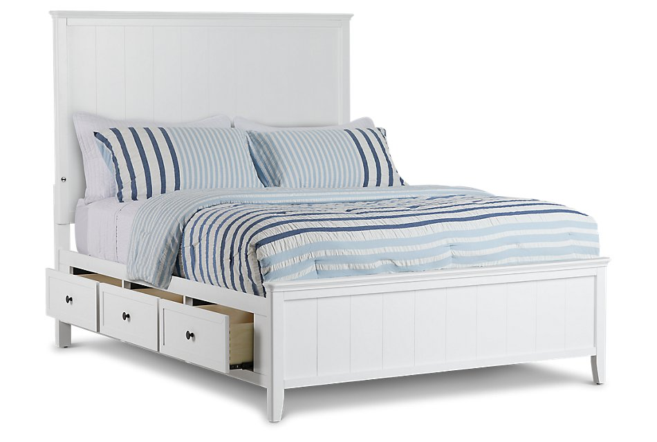 Remarkable Cooper White Panel Storage Bed Bedroom Beds City Furniture Camellatalisay Diy Chair Ideas Camellatalisaycom